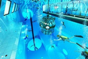 В Польше строят самый глубокий в мире бассейн для дайвинга
