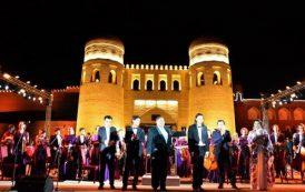 В Хиве первые состоялся концерт симфонического оркестра Узбекистана