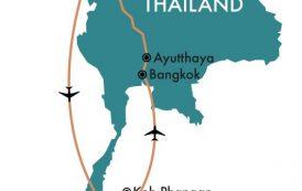 Окончательный маршрут путешествия по Таиланду + советы