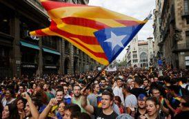 В Каталонии заблокированы автотрассы и железные дороги