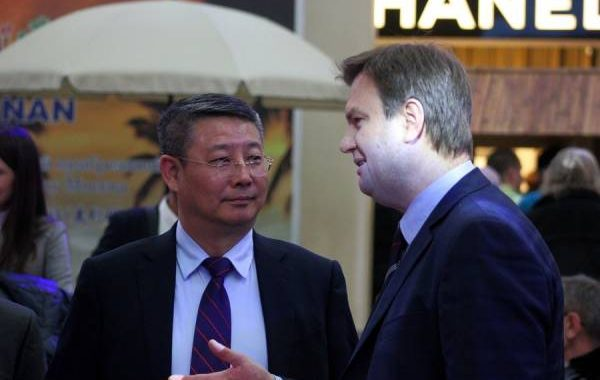 Руководство китайского туристического центра Саньи провели выездную презентацию в Москве