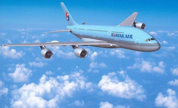 Korean Air заменит нарейсах вМоскву Airbus А330 наBoeing 787