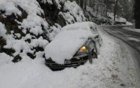 На Корсике выпал снег