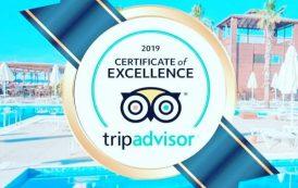 TUI Day&Night Connected Club Life Belek 5*  отмечен сертификатом качества TripAdvisor 2019